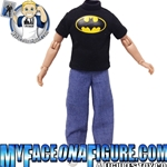 8 Inch Male Black Batman Shirt