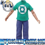 8 Inch Male Green Lantern Shirt
