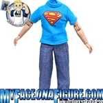 8 Inch Female Superman Outfit