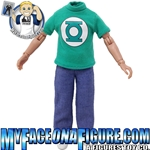 5 Inch Child Green Lantern Shirt