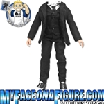 12 Inch Black Suit Version B with Vest