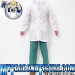 12 Inch Male Doctor/Medical Scrubs/ Scientist